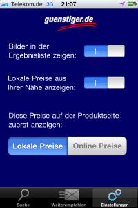 guenstiger.de App